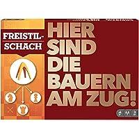 Mattel-Games-GDG26-Freestyle-Schach-Spiel-fr-2-Spieler-ab-8-Jahren Mattel Games GDG26 Freestyle-Schach, Spiel für 2 Spieler ab 8 Jahren -