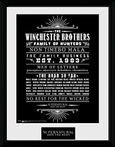 Supernatural - Family Business Poster Da Collezione Incorniciato (40 x 30cm)