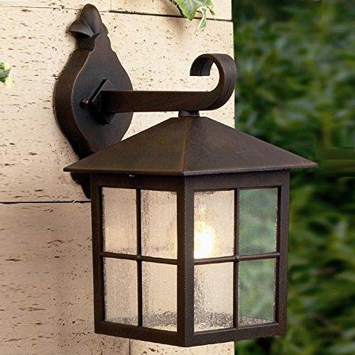 Lampada da parete in Alluminio, uno rustico Eye-catcher