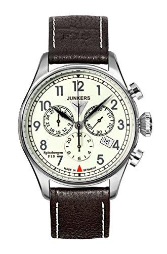 Junkers Reloj hombre cronógrafo 6186–5Serie Spitzbergen F13