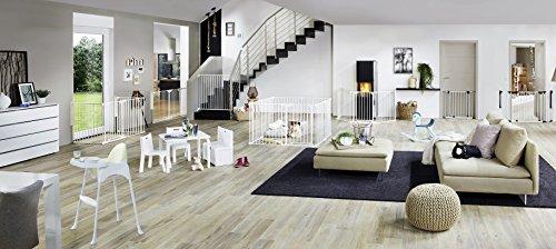 Original IMPAG® Treppen und Tür-Schutzgitter EASY STEP® | 62 cm - 212 cm | sicherheitsgeprüft nach EN 1930:2011 - 4