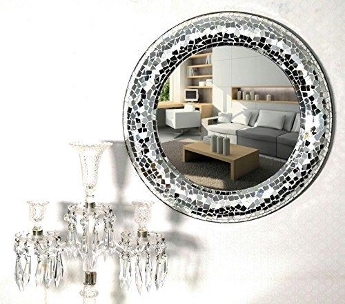 Venetian Design Crackle Wall Mirror