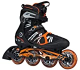 K2 Herren Inline Skate VO2 90 Speed BOA M Inlineskate, Schwarz/Orange, 11
