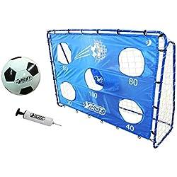 BestSporting 213 Cage de Football Unisexe pour Jeunesse Bleu