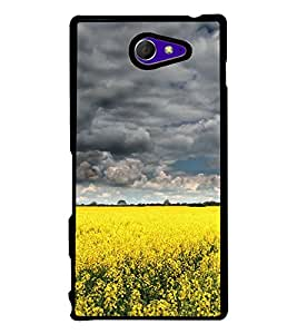 PrintVisa Agriculterer Land High Gloss Designer Back Case Cover for Sony Xperia M2 Dual :: Sony Xperia M2 Dual D2302