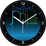 PAVIKA CREATOINS Music Wall Clock