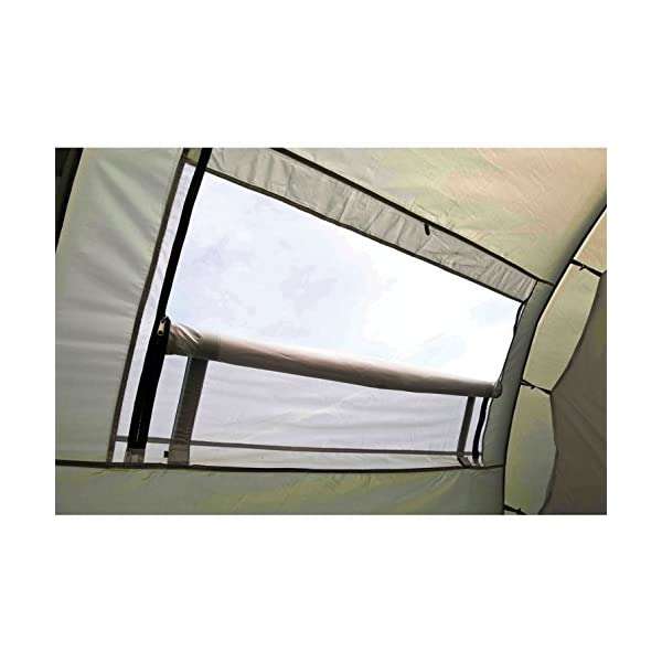 Coleman Tent Coastline 4 Deluxe, 4 Man Tent, 4 Person Tunnel Tent, Camping Tent, Family Tent, Qaterproof HH 3.000 mm