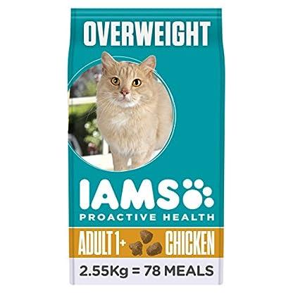 Iams Cat Food Adult Light Savoury Roast Chicken 2.55kg 2550g 2