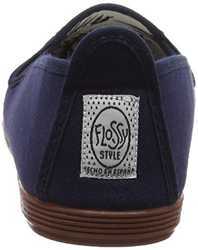 Flossy Mijas, Sandales Plateforme femme Bleu Marine