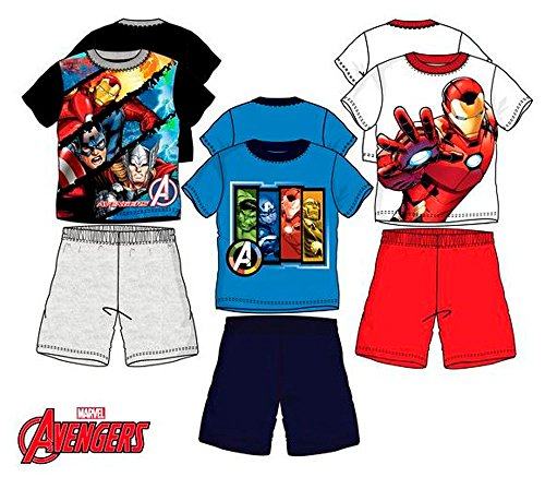 Pijama Avengers Niño 4-10 Años