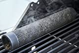 Plai 30cm Smoker Pipe Edelstahl, Räucher Röhre, Räuchern auf dem Grill, Intensiv Rauch, Räucherbox, Smoker Tube, Pellet Tube