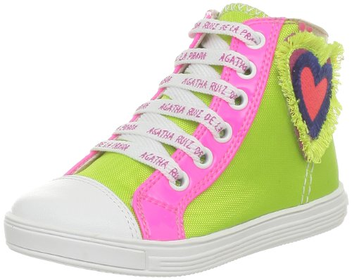 Agatha Ruiz De La Prada Bootis, Chaussures montantes filles Vert (A-Pistacho)