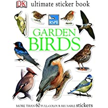 RSPB Garden Birds Ultimate Sticker Book (Ultimate Stickers)