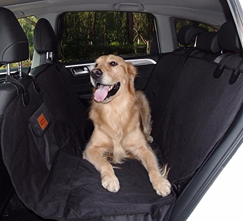 Generic Car Pet Seat Covers Waterproof Back Bench Seat 600D Oxford Car Interior Travel Accessories Car Seat Covers Mat for Pets Dog