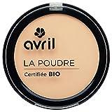 Avril - Cipria compatta, biologica certificata, colore: porcellana, da 7g
