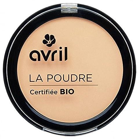 AVRIL - Poudre Compacte Porcelaine - Ne Dessèche pas la Peau - Certifiée Bio - Non Testée sur les Animaux - 7g