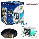 Beatarn Refroidisseur d'air arctique, refroidisseur refroidisseur d'air de ventilateur de bureau dortoir mini ventilateur portatif