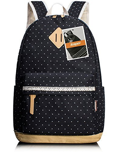 leaper-casual-sac-a-dos-scolaire-cartable-fille-sac-porte-dos-voyage-school-backpack-daypack-bleu-no