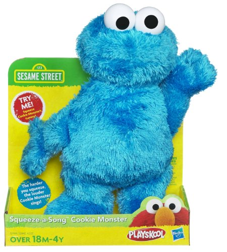 Sesame Street Squeez-a Song Cookie (Baby Monster Sesame Street)