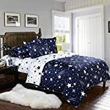 VYBBA Microfiber Designer Double BEDSHEET Set Of 3 PCS. (1 Double BEDSHEET With 2 Pillow Covers)