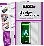 dipos I 2X Schutzfolie klar passend für Motorola Moto G7 Power Folie Bildschirmschutzfolie