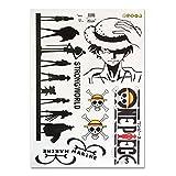 CoolChange One Piece Wandtattoo Bogen 70x50cm