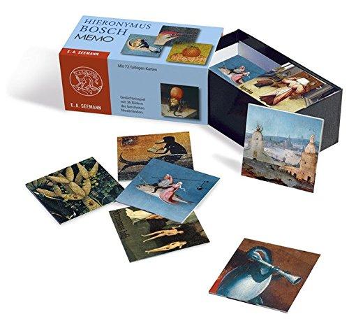 Hieronymus Bosch. Memo: Gedächtnisspiel mit 36 Bildern des berühmten Niederländers