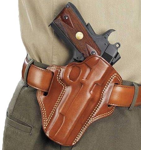 Galco Combat Master Ceinture Holster pour 191112,7cm Colt, Kimber, para, Springfield, mixte, peau