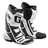 Gaerne GP1 Sportstiefel, Farbe weiss-schwarz, Größe 43