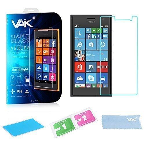 Panaaz vetro temperato rigida proteggi schermo cover sottile per tutti gli smartphone (apple,samsung,nokia,sony) - microsoft lumia 730/735