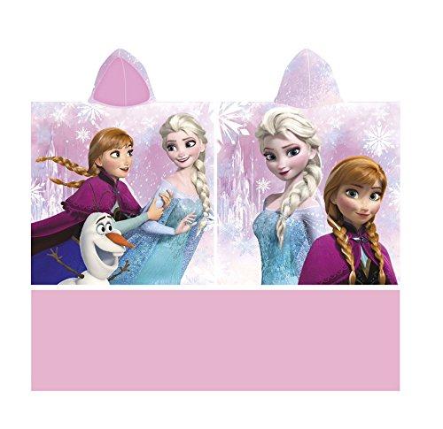 Poncho capa baño Frozen Disney talla única