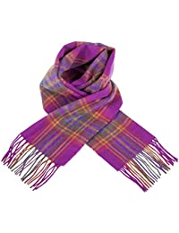 Edinburgh 100% Lambswool Scottish Stewart Tartan Collection Scarf