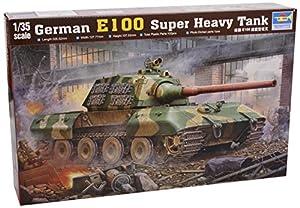 Trumpeter 384 - Tanque alemán E 100 a Escala 1:35 Importado de Alemania