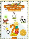 Lernraupe - Es blinkt, es klingt, es stimmt!: Mein erstes Licht- und Sound-Buch