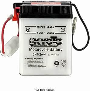 Kyoto Motorrad Batterie 6n4 2a 4 6v 4ah Auto