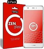 nandu I ZenGlass [2 Stück] Flexible Glas-Folie für Huawei Nova Panzerfolie I Bildschirm-Schutzfolie 9H I (Kleiner Als Das Gewölbte Bildschirm)