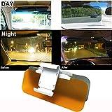 Extensor de la visera del coche, Extensor de parabrisas tintado antirreflejo para automóvil, Visera antideslumbrante nocturna para automóvil, Visera de parabrisas universal para automóvil
