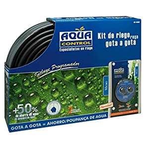 Aqua Control C4062 – Kit de riego gota a gota con programador huerto urbano y terraza