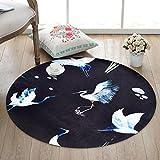 Zhang Xiao Hong Shop Für Küchen-Polyester-runden günstigen schwarzen Schaufel-Kran für Wolldecke (Size : 80 cm Diameter)