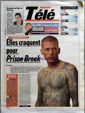 france-soir-tele-du-26-09-2006-le-monde-est-foot-sur-tps-foot-tf1-football-lille-ac-milan-france-2-t