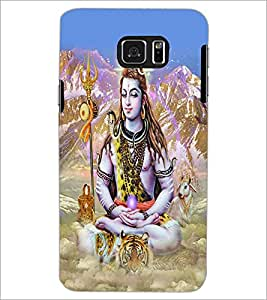 PRINTSWAG LORD SHIVA Designer Back Cover Case for SAMSUNG GALAXY NOTE 5 EDGE