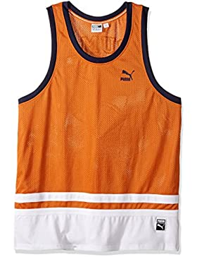 Camiseta de B¨¦isbol para Hombre, Naranja Quemada, XX-Grande