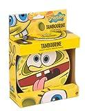 Bob l\'éponge SBPP002 Spongebob Tambourin Motif Squarepants Jaune
