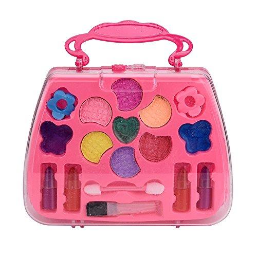 Puzzle Dekompression Spielzeug,ALIKEEY Prinzessin Mädchen Pretend Play Toy Deluxe Make-up-Palette Set Nicht Giftig für Kinder