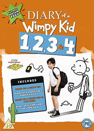 DVD1 - Diary Of A Wimpy Kid 1-4 Set (1 DVD)