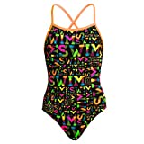 Funkita Girls Strapped In One Piece Night Swim Badeanzug Gr. 176DE/14AUS