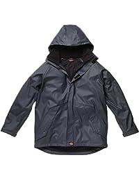 Dickies Raintite Jacket, Navy Blue, Medium