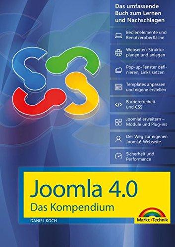 grafik design buecher Joomla! 4.0 Das Kompendium - Das umfassende Praxiswissen - aktuellste Version