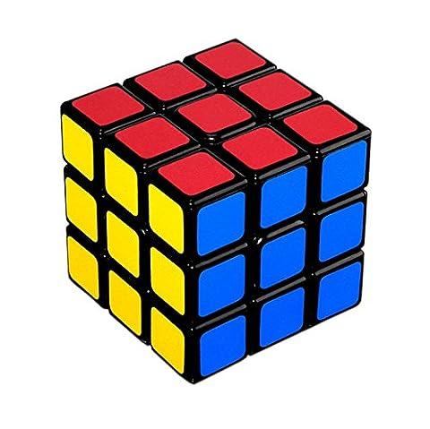 Lora&Chat 3x3 Rubik's Cube de Vitesse Magique Classique Professionnel 60MM Jeux Educatifs