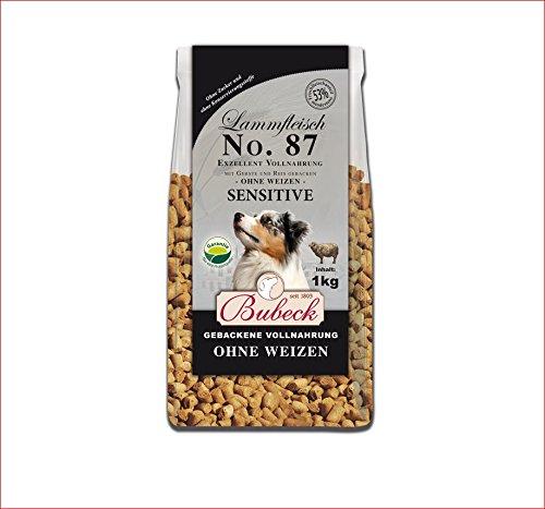 Bubeck Trockenfutter No. 87 Lammfleisch -Sensitive--- ohne Weizengluten -